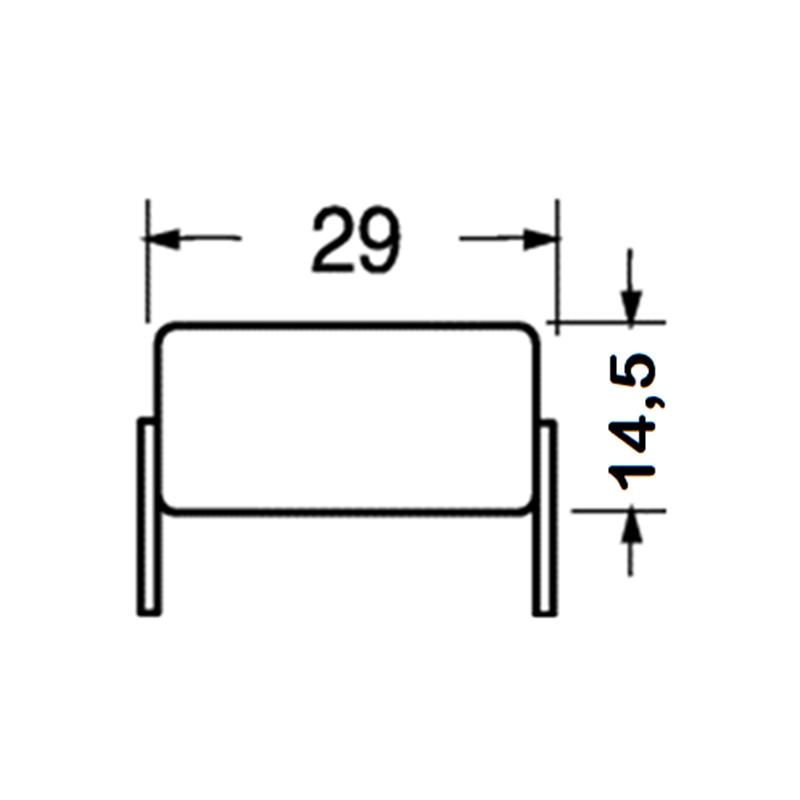 Gleiswendel 2 Ebenen Spur H0 für Fleischmann Profi Gleis R1 einspurig CNC gef.